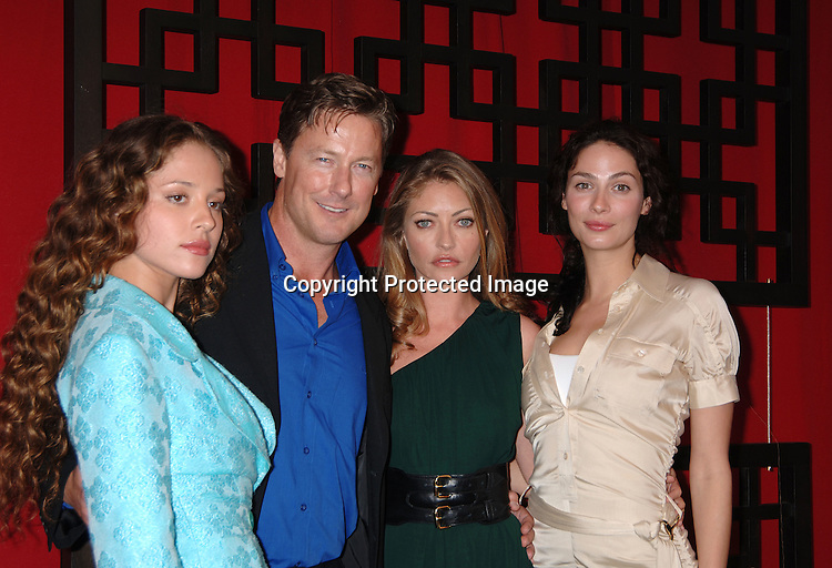 """Cast of """"Vanished"""" Margarita Levieva, ..John Allen Nelson, Rebecca Gayheart and ..Joanne Kelly..at The Fox Upfront 2006-2007  Fall Announcement ..of their new Schedule on May 18, 2006..at Guastavinos...Robin Platzer, Twin Images"""