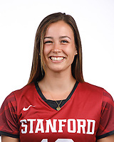 STANFORD, CA - August 16, 2019: Emma Alderton on Field Hockey Photo Day.