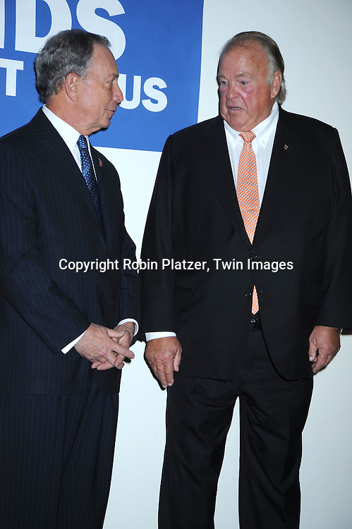 Mayor Michael Bloomberg and Charles Walgreen, 111 attending The  National Center for Learning Disabilities 33rd Annual Benefit Dinner on April 28, 2010 at Tribeca Rooftop in New York City.
