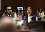 Nevada Senate Democrats Ruben Kihuen and Julia Ratti work on the Senate floor during a special session at the Nevada Legislature in Carson City, Nev. on Tuesday, Oct. 11, 2016. <br /> Photo by Cathleen Allison