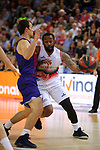 League ACB-ENDESA 201/2019.Game 38.<br /> PlayOff Semifinals.1st match.<br /> FC Barcelona Lassa vs Tecnyconta Zaragoza: 101-59.<br /> Bo McCalebb vs Kevin Pangos.