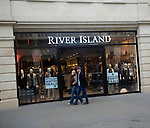 River Island shop, Southgate shopping centre, Bath, England