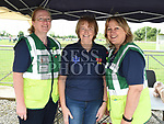 Marella Gallagher, Susan Herron and Martina O'Donoghue from Duleek Cardiac First Responders at the Duleek GFC family fun day.   Photo:Colin Bell/pressphotos.ie