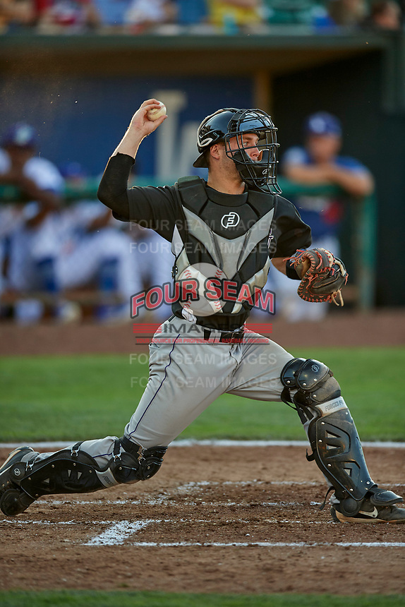Jacob Barnwell (10) of the Grand Junction Rockies during the game against the Ogden Raptors at Lindquist Field on June 25, 2018 in Ogden, Utah. The Raptors defeated the Rockies 5-3. (Stephen Smith/Four Seam Images)