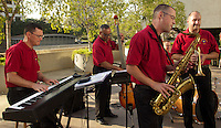 The 40th Infantry Division Band, of The California Army National Guard, play for the DoDEA Administrators' Conference participants at The Waestin Bonaventure in Los Angeles California.