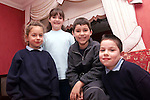 Twins Melissa and Michael Matthews with Jane and Ian Callaghan..Picture: Paul Mohan/Newsfile