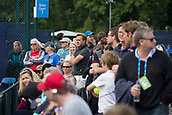 June 11th 2017, Nottingham, England; ATP Aegon Nottingham Open Tennis Tournament day 2;  Part of the large crowd watching the match between Ryan James Storrie of Great Britain and John-Patrick Smith of Australia