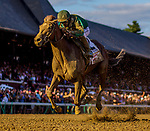 AUG 24: Code of Honor with John Velazquez up wins the Travers Stakes at Saratoga Racecourse in New York on August 24, 2019. Evers/Eclipse Sportswire/CSM