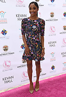 20 May 2018 - Beverly Hills, California - Kamiyla Bell. 10th Annual Pink Pump Affair Charity Gala: A Decade Celebrating Women held at Beverly Hills Hotel. Photo Credit: Birdie Thompson/AdMedia