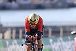 Luka Pibernik (SLO) Bahrain-Merida during Stage 1 of the La Vuelta 2018, an individual time trial of 8km running around Malaga city centre, Spain. 25th August 2018.<br /> Picture: Eoin Clarke | Cyclefile<br /> <br /> <br /> All photos usage must carry mandatory copyright credit (© Cyclefile | Eoin Clarke)