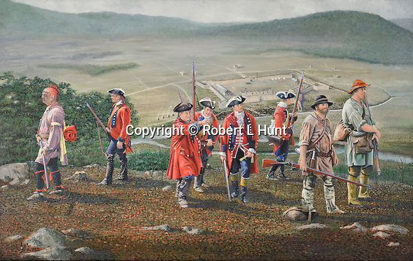 During the French and Indian War, the British Army built a string of garrisoned forts into the frontier from the edge of civilization in the East into the wilderness of western Pennsylvania. They were connected by the first road built through that wilderness which become known as Forbes Road, the name of the overall British commander, General John Forbes. It is now present day US 30.<br />