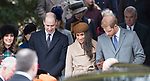 25.12.2017; Sandringham, England: MEGHAN MARKLE JOINS ROYALS FOR CHRISTMAS AT SANDRINGHAM<br /> Meghan Markle, Prince Harry&rsquo;s fiance accompanied him to the Christmas Service at St Mary&rsquo;s Magdalene on the Sandringham estate. Also present were the Duke and Duchess of Cambridge; Princess Beatrice, Princess Eugenie, the Wessexes and Peter Phillips and Family<br /> Members of the extended royal family were also in attendance. <br /> Mandatory Photo Credit: &copy;Francis Dias/NEWSPIX INTERNATIONAL<br /> <br /> IMMEDIATE CONFIRMATION OF USAGE REQUIRED:<br /> Newspix International, 31 Chinnery Hill, Bishop's Stortford, ENGLAND CM23 3PS<br /> Tel:+441279 324672  ; Fax: +441279656877<br /> Mobile:  07775681153<br /> e-mail: info@newspixinternational.co.uk<br /> Usage Implies Acceptance of Our Terms &amp; Conditions<br /> Please refer to usage terms. All Fees Payable To Newspix International