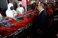 SAO PAULO, SP, 18.08.2014 - GERALDO ALCKMIN ENTREGA DE VIATURAS E MEDICOS - Geraldo Alckmin Governador de SP entrega viaturas e médicos no Corpo de Bombeiros da Sé região central nesta segunda-feira 18. (Foto: Bruno Ulivieri - Brazil Photo Press).