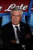 Carlo Ancelotti coach of Napoli looks on<br /> Napoli 25-9-2019 Stadio San Paolo <br /> Football Serie A 2019/2020 <br /> SSC Napoli - Cagliari SC<br /> Photo Cesare Purini / Insidefoto