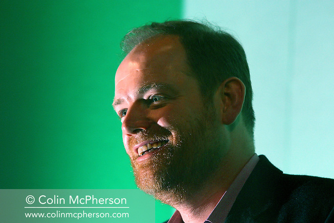 Channel 4 chief executive, Mark Thompson, pictured before delivering the annual MacTaggart Lecture, the keynote address at the annual Edinburgh International Television Festival...........