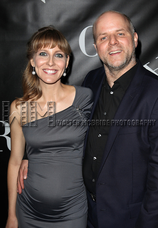 Tif Bullard and Dexter Bullard attending the Opening Night Performance After Party for 'Grace' at The Copacabana in New York City on 10/4/2012.