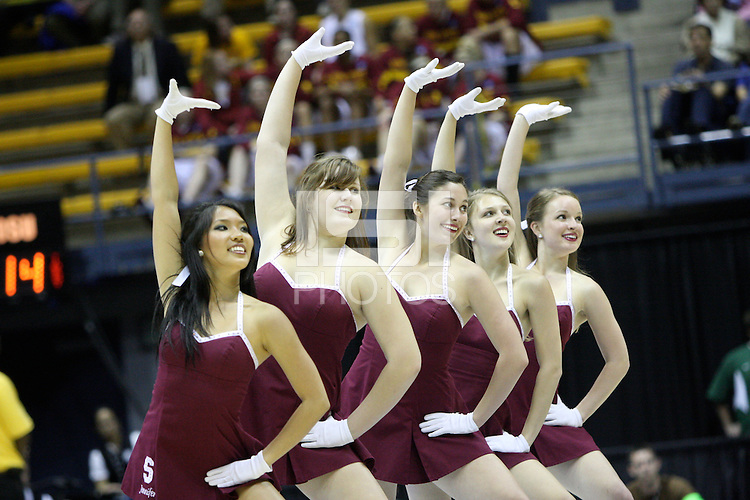 BERKELEY, CA - MARCH 30: Dollies perform during Stanford's 84-66 win against the Ohio State Buckeyes on March 28, 2009 at Haas Pavilion in Berkeley, California.