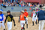 HOT SPRINGS, AR - APRIL 14: Oaklawn Handicap. Oaklawn Park on April 14, 2018 in Hot Springs,Arkansas. (Photo by Ted McClenning/Eclipse Sportswire/Getty Images)