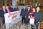 TALKS: Announcing details of a series of Advent talks at St. John's Church in Tralee, l-r: Bill Looney, Bernie McCaffrey, Fr. Kieran O'Brien, Fr. Francis Nolan, Fr. Sean Hanafin, Norma Foley, Anne O'Shea-Daly and Fr. Gerard Finucane.