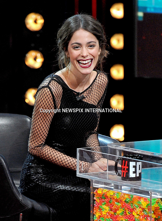 09.03.2017; Milano, Italy: MARTINA STOESSEL<br />appears on Italian TV talk show &quot;E poi c'&Euml; Cattelan&rdquo;.<br />Stoessel will start her first solo concert tour, &ldquo;Got Me Started Tour&rdquo; in Stuttgart, Germany later this month.<br />Mandatory Credit Photo: &copy;NEWSPIX INTERNATIONAL<br /><br /><br />PHOTO CREDIT MANDATORY!!: NEWSPIX INTERNATIONAL(Failure to credit will incur a surcharge of 100% of reproduction fees) - No Web Use Without Prior Permission<br /><br />IMMEDIATE CONFIRMATION OF USAGE REQUIRED:<br />Newspix International, 31 Chinnery Hill, Bishop's Stortford, ENGLAND CM23 3PS<br />Tel:+441279 324672  ; Fax: +441279656877<br />Mobile:  0777568 1153<br />e-mail: info@newspixinternational.co.uk<br />Please refer to usage terms. All Fees Payable To Newspix International