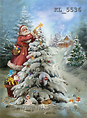 Interlitho, Patricia, CHRISTMAS SANTA, SNOWMAN, nostalgic, paintings, santa, tree(KL5536,#X#) Weihnachten, nostalgisch, Navidad, nostálgico, illustrations, pinturas