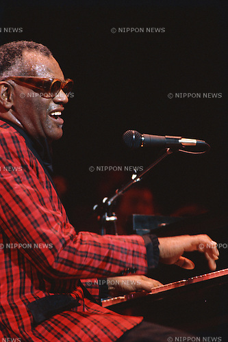 Ray Charles, Jul, 1983 : Ray Charles performing at NewYork, USA