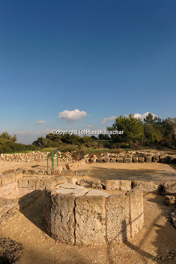 Mount Carmel. The Road of Millennia, an outdoor archaeological museum