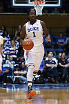 08 February 2015: Duke's Elizabeth Williams. The Duke University Blue Devils hosted the Clemson University Tigers at Cameron Indoor Stadium in Durham, North Carolina in a 2014-15 NCAA Division I Women's Basketball game. Duke won the game 89-60.