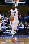 08 February 2015: Duke's Elizabeth Williams. The Duke University Blue Devils hosted the Clemson University Tigers at Cameron Indoor Stadium in Durham, North Carolina in a 2014-15 NCAA Division I Women's Basketball game. Duke won the game 89-60.