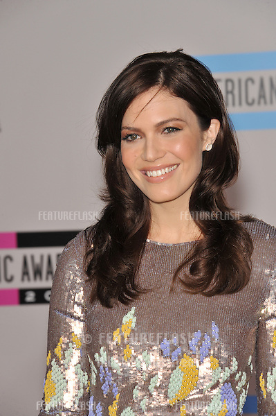 Mandy Moore at the 2010 American Music Awards at the Nokia Theatre L.A. Live in downtown Los Angeles..November 21, 2010  Los Angeles, CA.Picture: Paul Smith / Featureflash