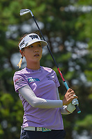 Lydia Ko (NZL) watches her tee shot on 3 during round 3 of the 2018 KPMG Women's PGA Championship, Kemper Lakes Golf Club, at Kildeer, Illinois, USA. 6/30/2018.<br /> Picture: Golffile | Ken Murray<br /> <br /> All photo usage must carry mandatory copyright credit (&copy; Golffile | Ken Murray)