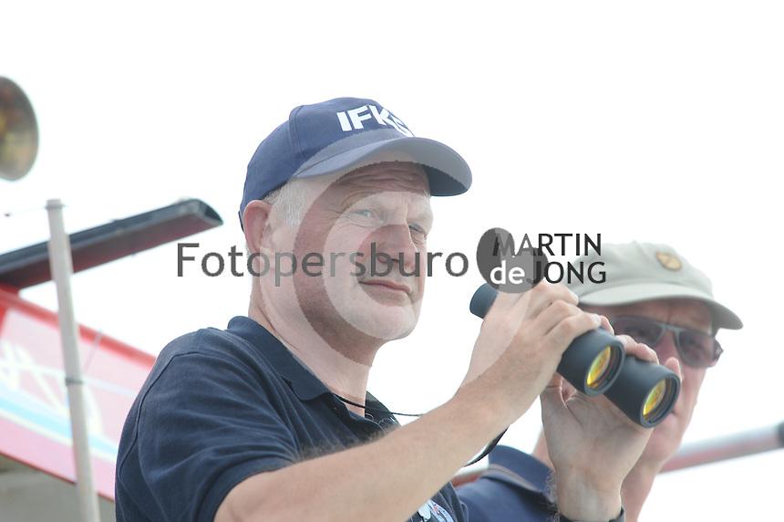 ZEILEN: ECHTENERBRUG: Tjeukermeer, 07-08-2014, IFKS Skûtsjesilen, ©foto Martin de Jong