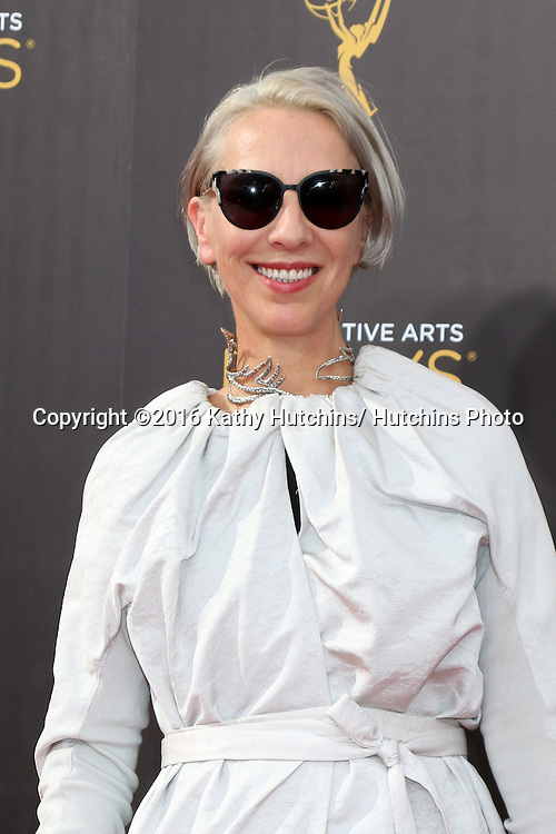 LOS ANGELES - SEP 10:  Michele Clapton at the 2016 Creative Arts Emmy Awards - Day 1 - Arrivals at the Microsoft Theater on September 10, 2016 in Los Angeles, CA