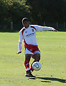 Action from the Football League Youth Alliance Cup match between Stevenage U18 and Barnet U18 at the Global Village, Silsoe on 25th September, 2010.© Kevin Coleman