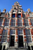 Amsterdam. Huis Bartolotti, het kantoor van Vereniging Hendrick de Keyser. Het huis werd gebouwd door de  17de-eeuwse koopman-bankier Willem Bartolotti van den Heuvel.