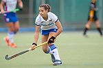 Mannheim, Germany, September 07: During the field hockey Bundesliga match between Mannheimer HC and Harvestehuder THC on September 7, 2019 at Am Neckarkanal in Mannheim, Germany. Final score 2-0. (Photo by Dirk Markgraf / www.265-images.com) *** Clara Badia Bogner #9 of Mannheimer HC