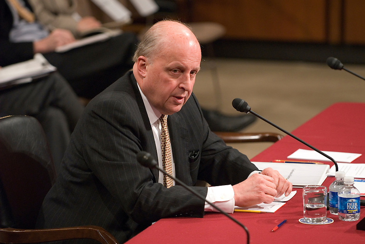 John Negroponte during his conformation before the Senate Foreign Relations Committee Full committee hearing his nomination to be deputy secretary of State.