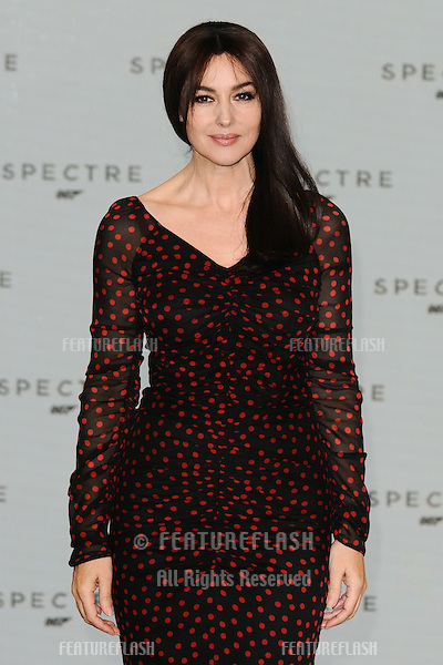 "Monica Bellucci at the announcement of the start of filming on the new James Bond movie ""Spectre"" at Pinewood Studios, London. 04/12/2014 Picture by: Steve Vas / Featureflash"