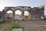 Gate of The Gate of Domitian (83 AD),  Hierapolis Temple of Apollo