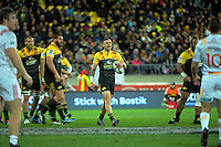 TJ Perenara in action during the Super Rugby semifinal match between the Hurricanes and Chiefs at Westpac Stadium, Wellington, New Zealand on Saturday, 30 July 2016. Photo: Dave Lintott / lintottphoto.co.nz