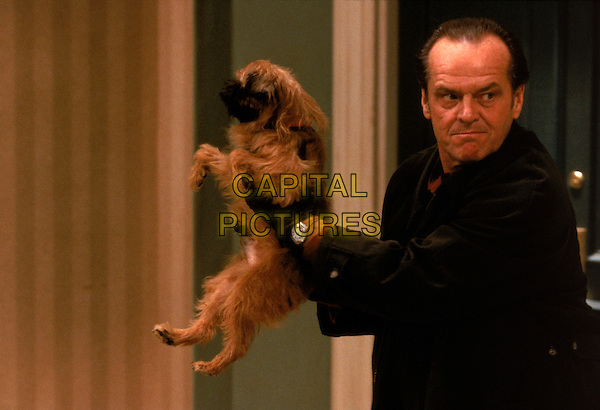 Jill the Dog & Jack Nicholson.in As Good as It Gets (1997) .*Filmstill - Editorial Use Only*.CAP/NFS.Supplied by Capital Pictures.