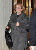 Washington, DC - December 24, 2009 -- United States Senator Kirsten Gillibrand (Democrat of New York) arrives to vote on H.R. 3590, regarding health care reform in the U.S. Capitol on Thursday, December 24, 2009.  In a party-line vote, the bill passed 60 - 39..Credit: Ron Sachs / CNP.(RESTRICTION: NO New York or New Jersey Newspapers or newspapers within a 75 mile radius of New York City)