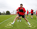 Nathan Thomas of Sheffield Utd during the training session at the Shirecliffe Training complex, Sheffield. Picture date: June 27th 2017. Pic credit should read: Simon Bellis/Sportimage