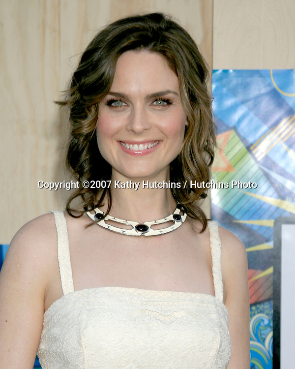 Emily Deschanel.Fox TV TCA Party.Santa Monica Pier.Santa Monica, CA.July 23, 2007.©2007 Kathy Hutchins / Hutchins Photo....