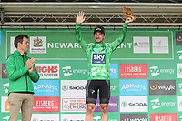 Picture by Alex Whitehead/SWpix.com - 06/09/2017 - Cycling - OVO Energy Tour of Britain - Stage 4, Mansfield to Newark-on-Trent - Sky's Elia Viviani retains the OVO Energy Green Jersey after Stage 4 of the Tour of Britain.