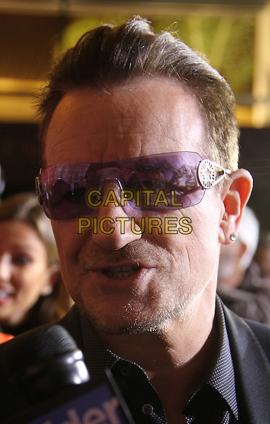 PALM SPRINGS, CA - JANUARY 4: Bono at 25th Annual Palm Springs International Film Festival Film Awards Gala on  January 4, 2014 at Palm Springs Convention Center, California. Credit: RTNUPA/MediaPunch Inc.<br /> CAP/MPI/JO<br /> &copy;Janice Ogata/MPI/Capital Pictures