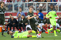 Santa Clara, CA - July 30, 2016: Liverpool FC defeated AC Milan 2-0 in a 2016 International Champions Cup match at Levi's Stadium.