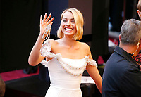 Margot Robbie arrives at the Oscars on Sunday, March 4, 2018, at the Dolby Theatre in Los Angeles. (Photo by Eric Jamison/Invision/AP)