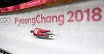 Inars Kivlenieks (LAT). Mens luge. Pyeongchang2018 winter Olympics. Alpensia sliding centre. Alpensia. Gangneung. Republic of Korea. 11/02/2018. ~ MANDATORY CREDIT Garry Bowden/SIPPA - NO UNAUTHORISED USE - +44 7837 394578