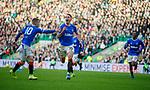 29.12.2019 Celtic v Rangers: Nikola Katic celebrates his goal for Rangers